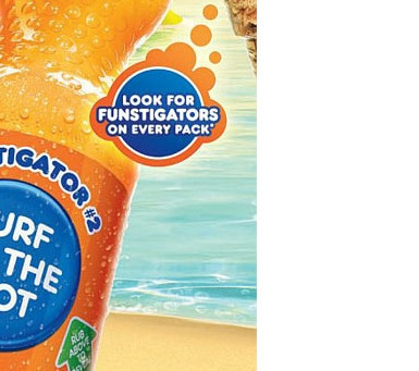 Temperature Sensitive Ink Labeling for Fanta Australia