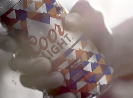Coors Light develops new can packaging with sun-activated ink