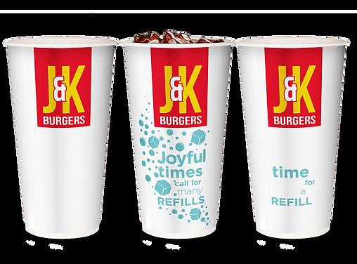 QSR cup idea to drive consumption