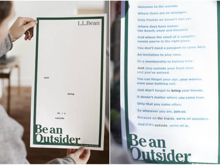 Portland ad agency shines with new L.L. Bean 'sunlight activated ink' ad