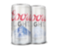 Coors Light Can Using Tempera Thermochromic Inkure Sensitive