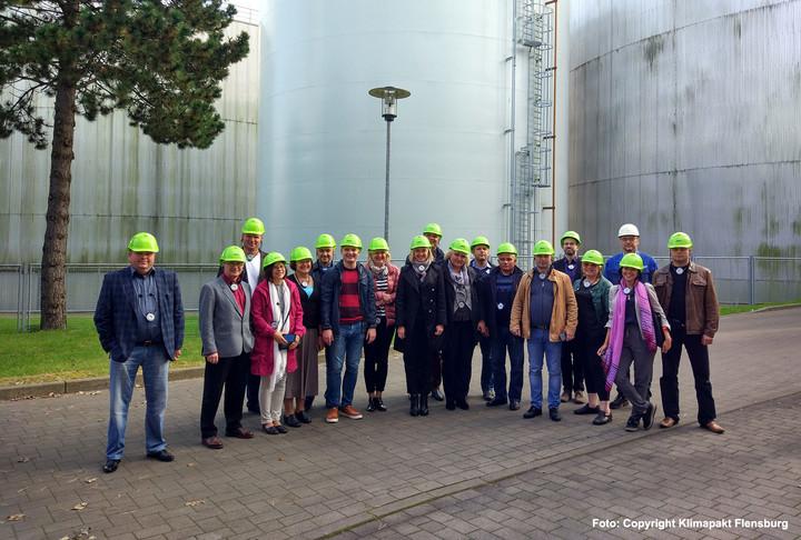 Klimapakt erhielt Besuch aus Weißrussland