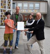 """Jannis und Christian Ide erhalten die Auszeichnung """"Flensburgs Klimaschützer"""""""