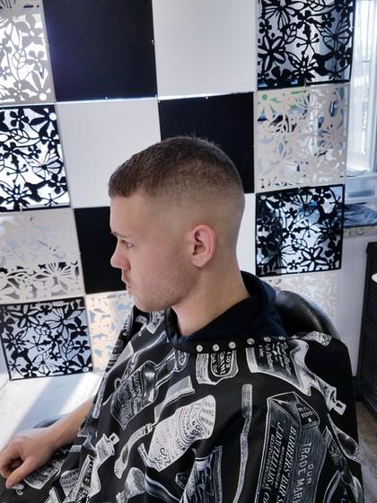 bald fade haircut