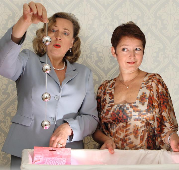 SYLVIA WIELAND & RITA GÄBLER in dem Erfolgsstück: Liebe, Leben, Lovetoys!
