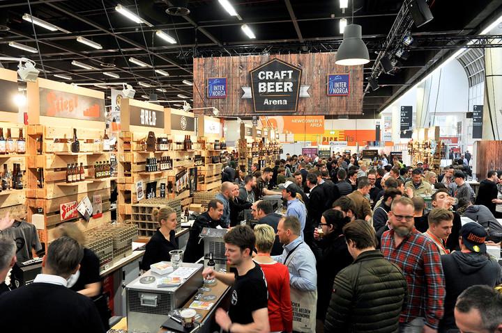 Ungebrochen: Craft Beer Boom auf der INTERNORGA 2018