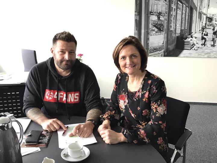 Interview mit OB Simone Lange zum Thema Fußball in Flensburg!