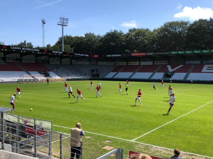 Remis bei dänischem Traditionsklub Vejle BK – SC Weiche Flensburg 08 1:1 (0:1)
