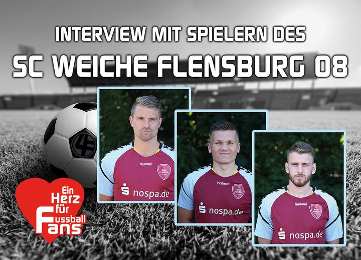 Interview mit Spielern des SC WEICHE FLENSBURG 08
