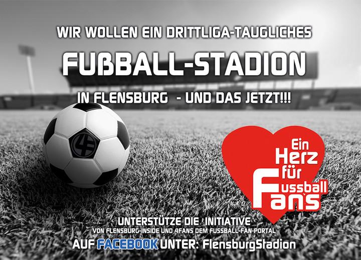 Stadion in Flensburg