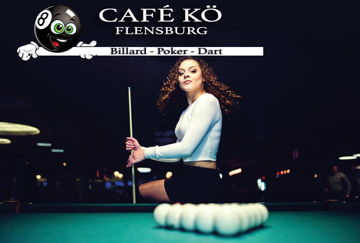 Neue Verlosung ist online! Billard im Café Kö Flensburg