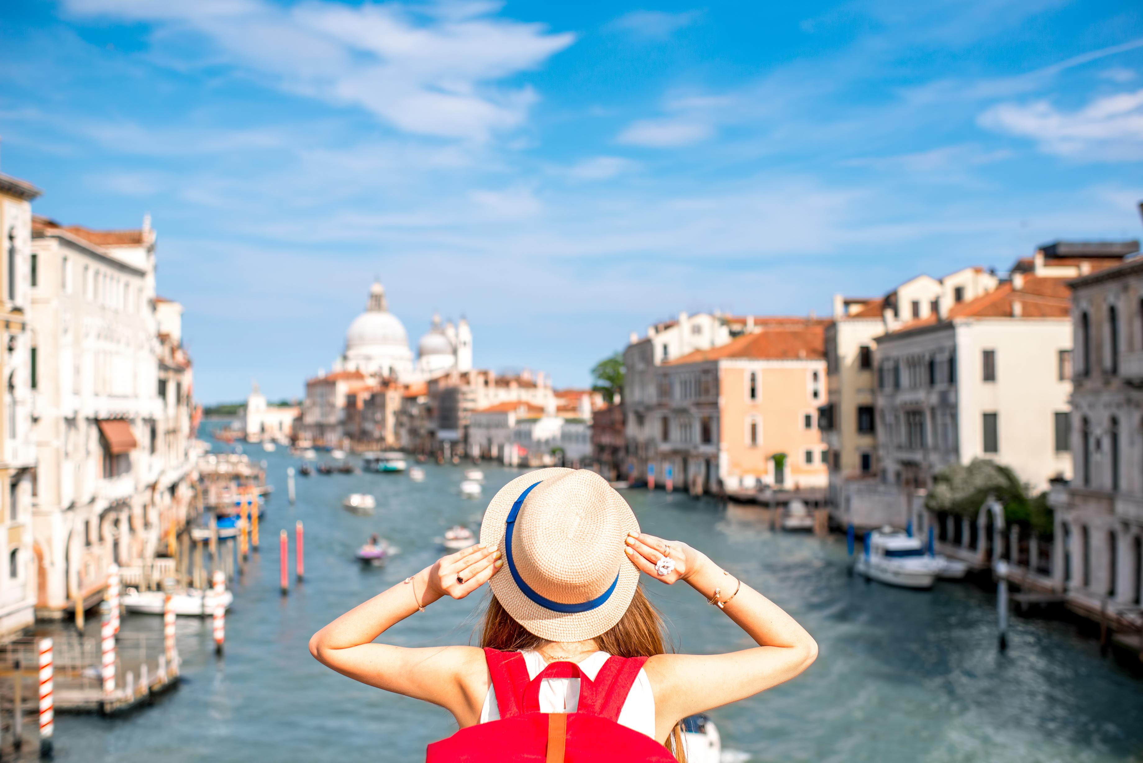Venice Italy Girl