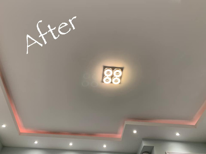 Ceiling private home
