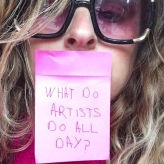 What do Artist's do all day?
