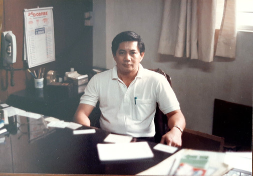 Goodfire Manager John Wong 1980's