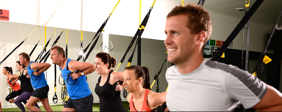 trx, group fitness classes brighton, personal training