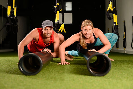 fitness, vipr, movement training, group training, grass, trx