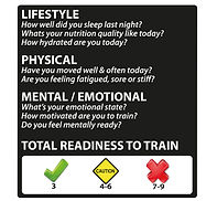 daily readiness, wellness, health, lifestyle, physical, mental emotional, stress, PTA, daily readiness