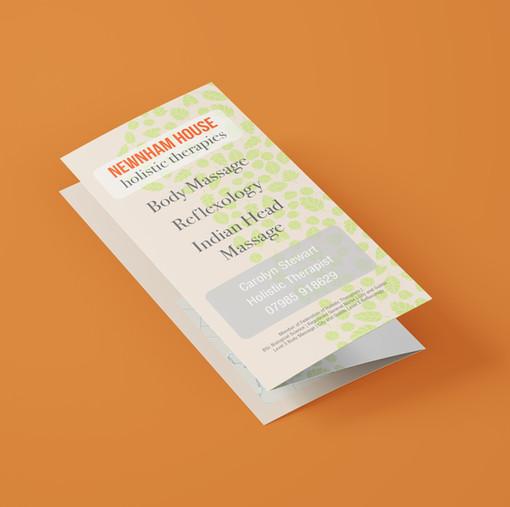 Z Fold Leaflet