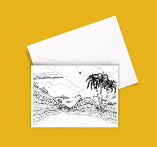 A5 Greetings Card