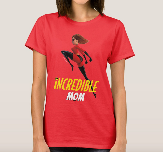 The Incredibles 2 Family Shirts available in zazzle.