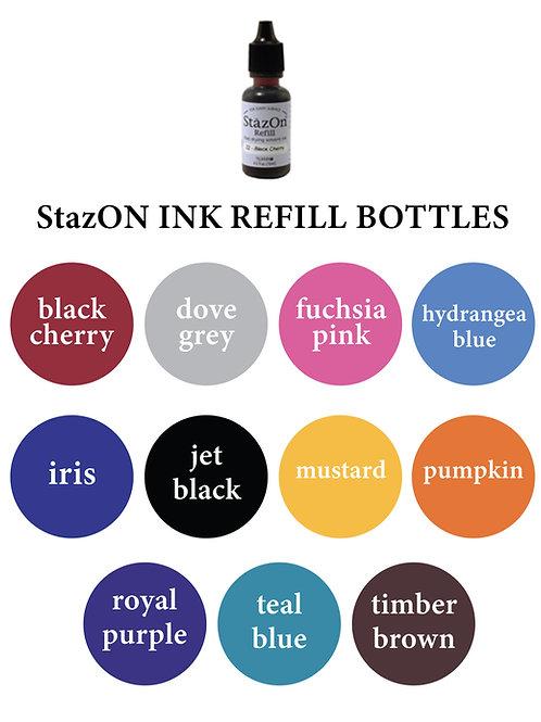 StazON Ink Refill Bottles