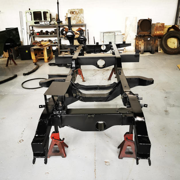 Refurbished chassis service
