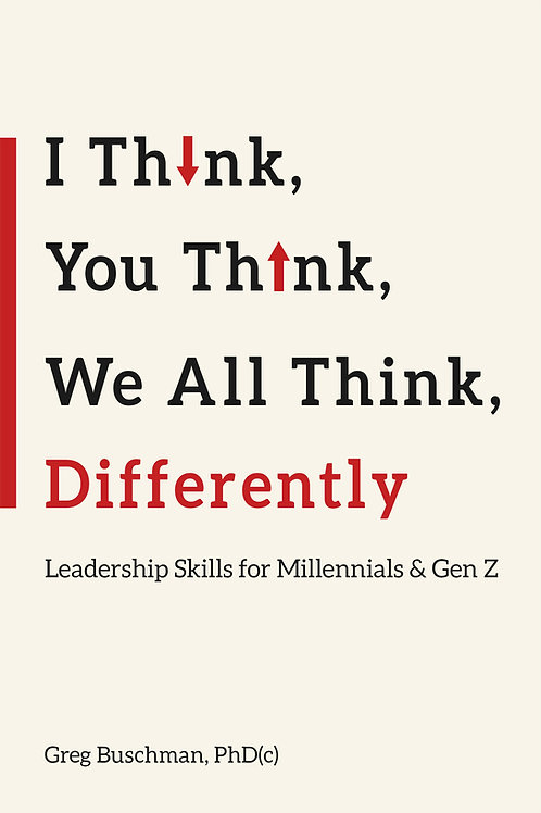 I Think, You Think, We All Think Differently: EPUB (Nook) Version