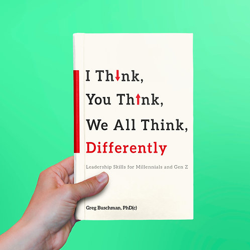 I Think, You Think, We All Think Differently: Paperback