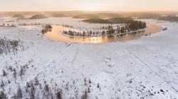 Karelia aerial view