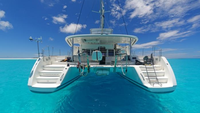 Katamarán Lagoon 500 Karibik