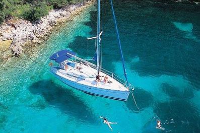 Chorvatsko jachta