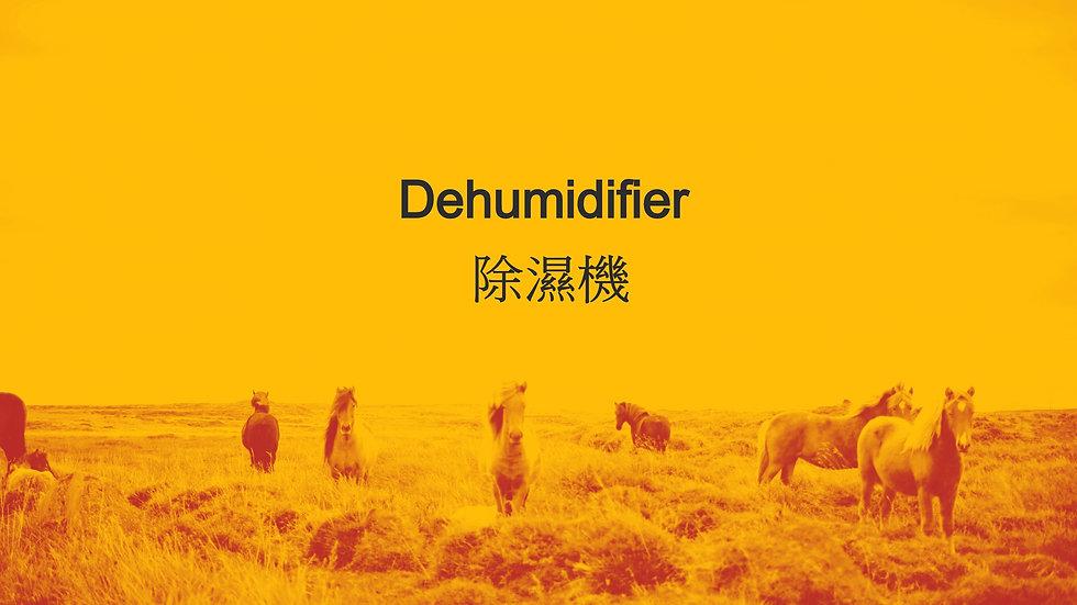 Dehumidifier 除濕機