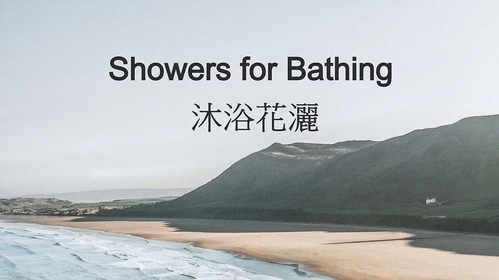Showers for Bathing 沐浴花灑
