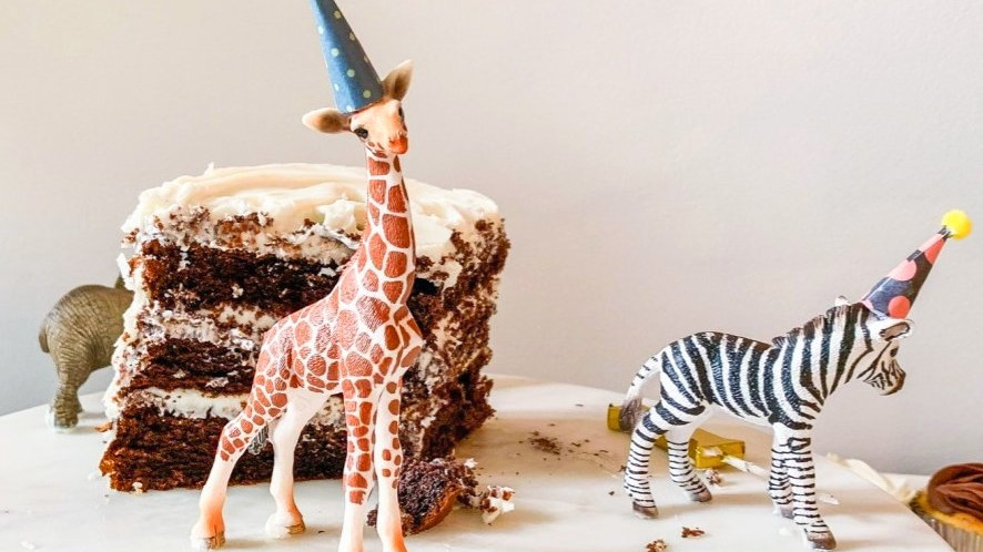 Cake Topper Party Animals - Mini Edition