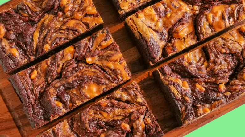 The Princess and the Pea-nut - Vegan Peanut Butter Brownies