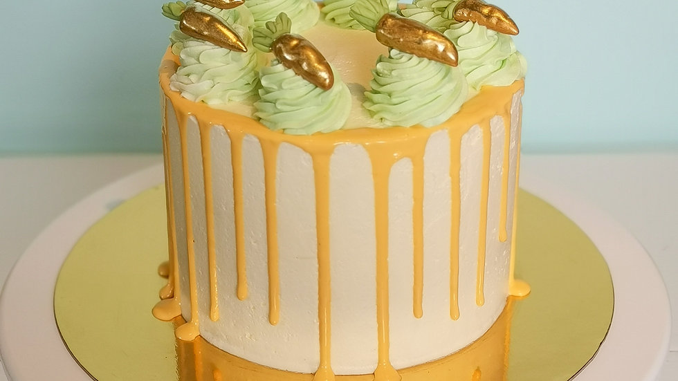 24 Carrot Gold Cake