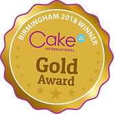 Gold Award Cake International November 2