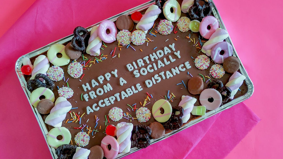 Personalised Tray Bake