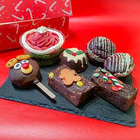 Christmas Eve Treat Box - Vegan and Glut