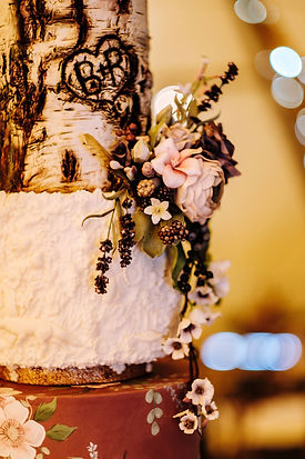 Wedding Cake - Woodland Wedding - Rustic