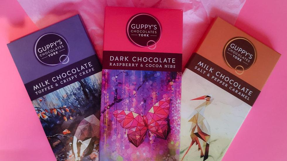 Guppy's of York Chocolate Bar