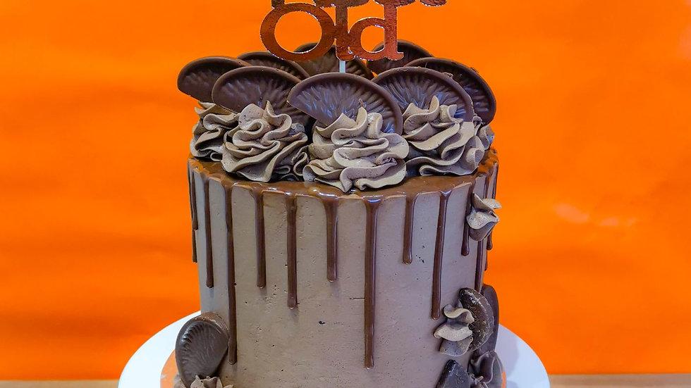 Customised Card Cake Topper