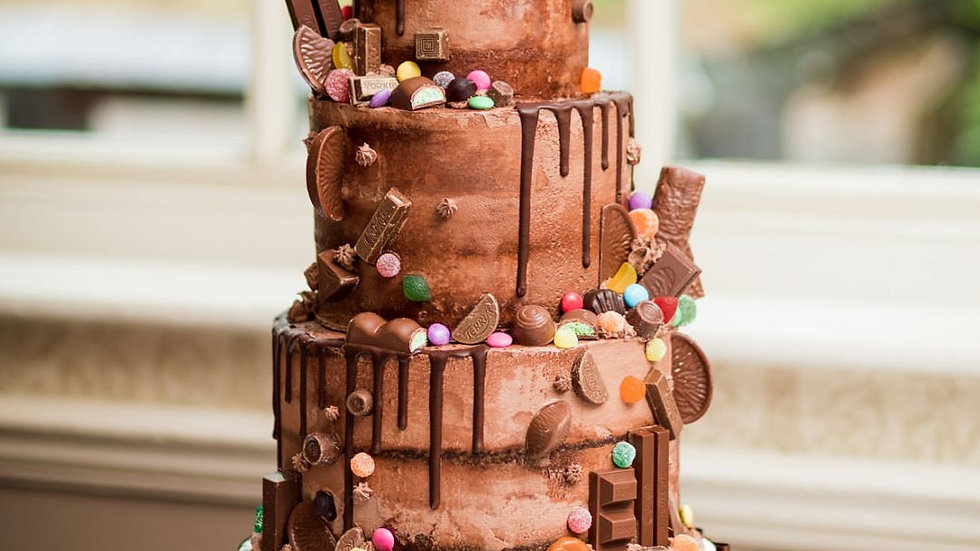 Chocolate Factory Drip Cake