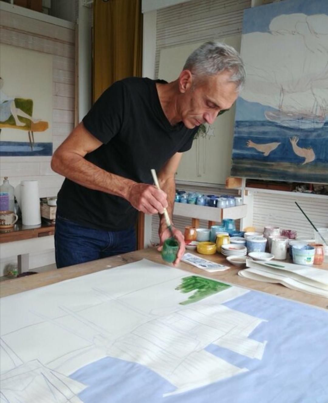 Stephane Dauthuille Artiste-Peintre Exposition Noirmoutier