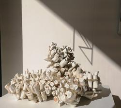Bénédicte Vallet Céramique Exposition Galerie Florence B. Noirmoutier 85330 Vendée