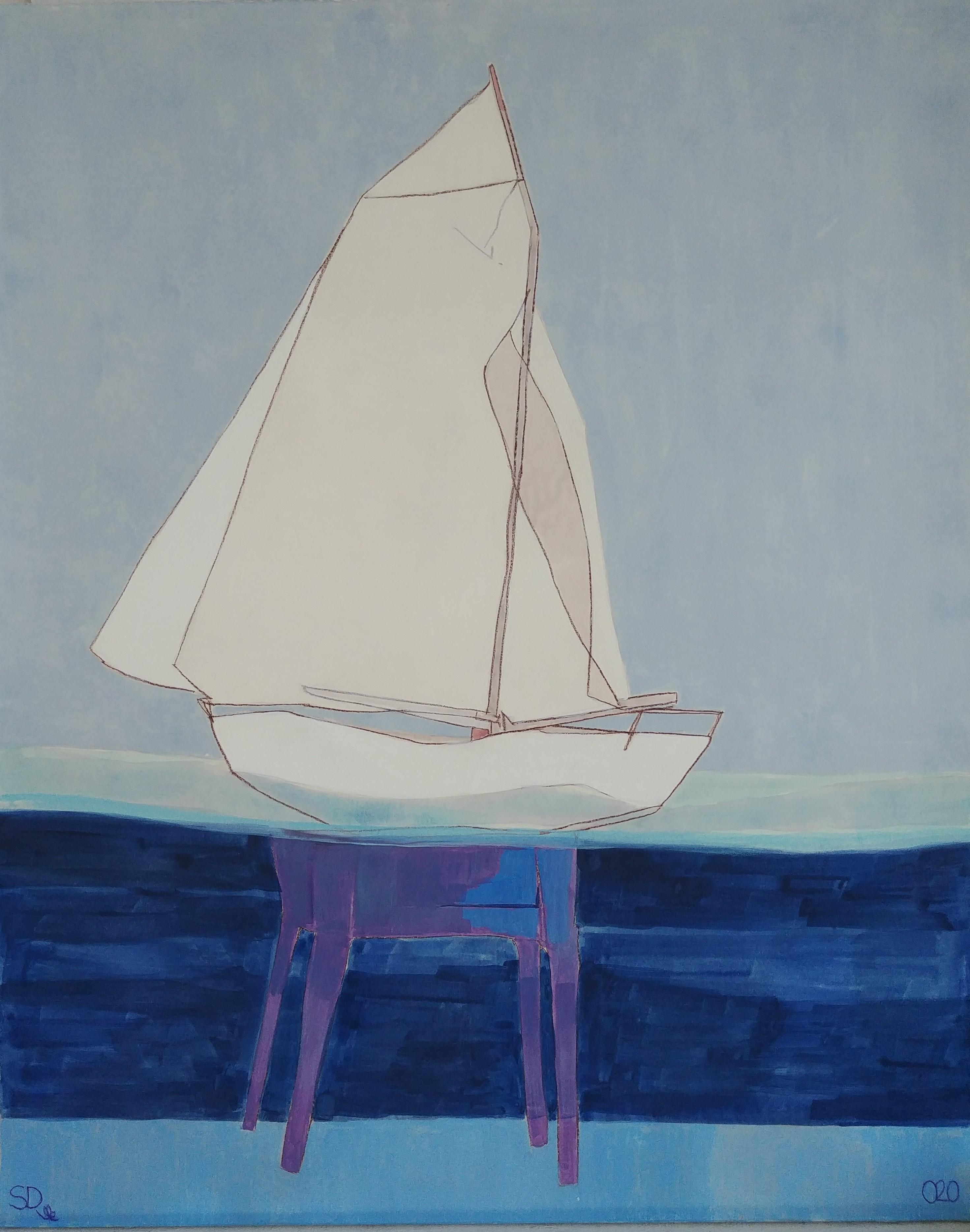 Stephane Dauthuille Exposition Peinture Noirmoutier