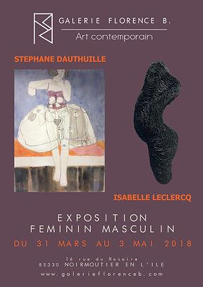 Dauthuille Peinture Leclercq Sculpture Céramique Grès Expostion Noimoutier