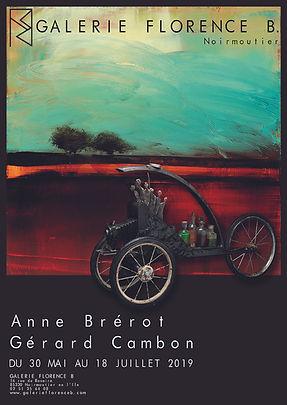 Exposition Brerot Cambon Peinture Sculpture
