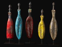 Etiyé Dimma Poulsen Exposition Galerie Florence B. Noirmoutier